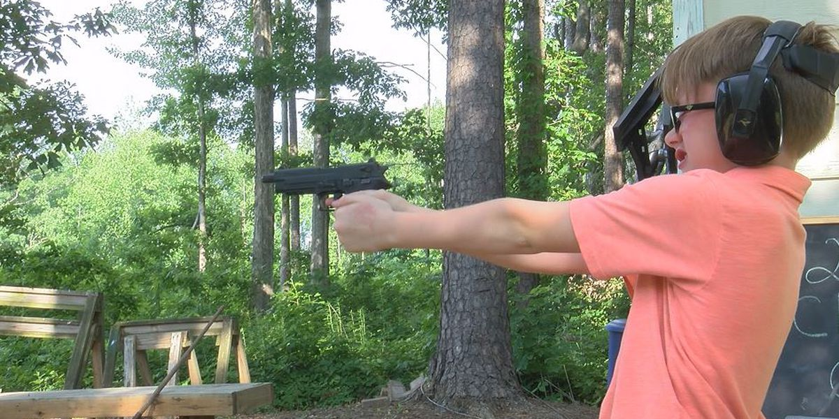 North Carolina class teaches kids as young as six how to use guns
