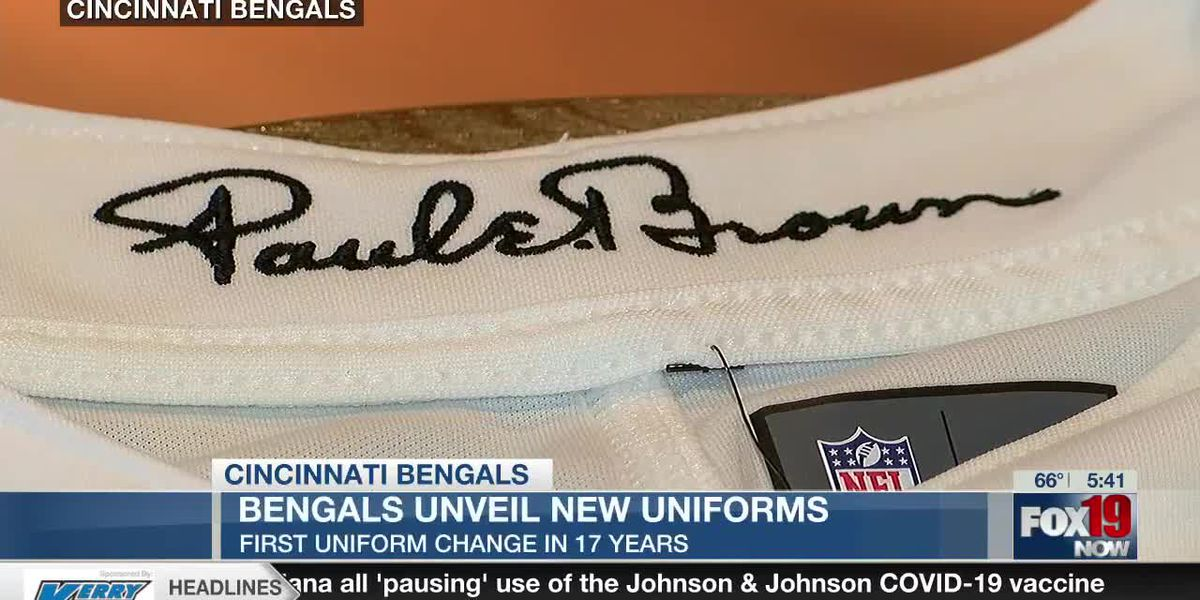 #NewStripes: Bengals unveil new uniforms
