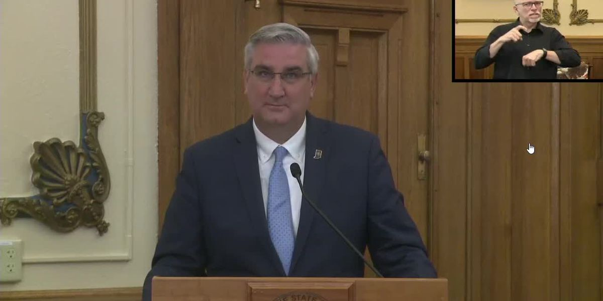 Gov. Holcomb gives update on COVID-19 response