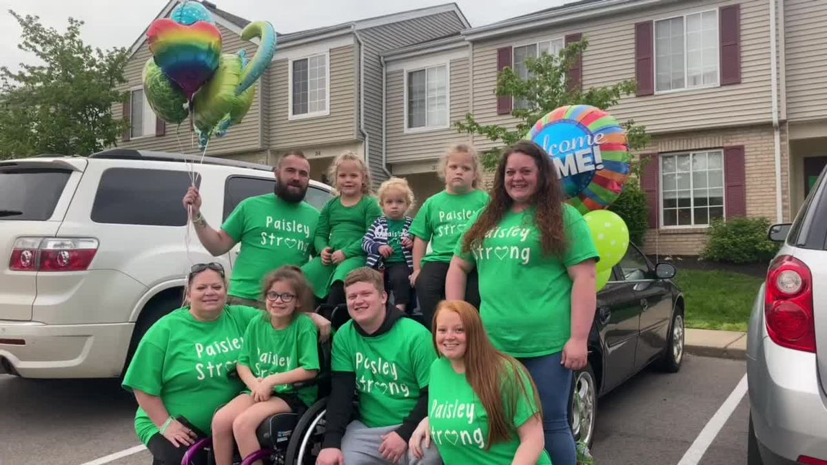 8-year-old Warren Co. with extremely rare condition returns home from hospital