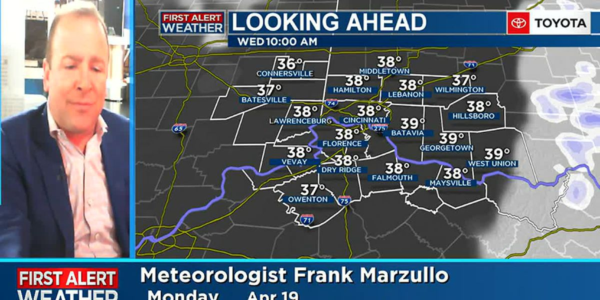 Frank's Monday Afternoon Forecast Update