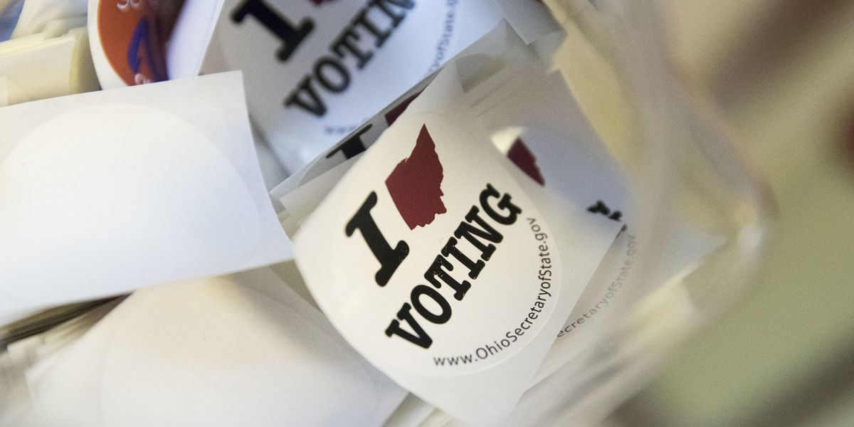 Monday is the last day to register to vote in Ohio, register online here
