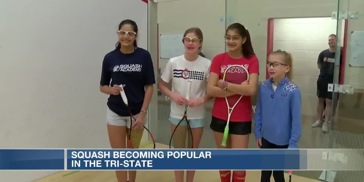 Squash becoming popular in the Tri-State