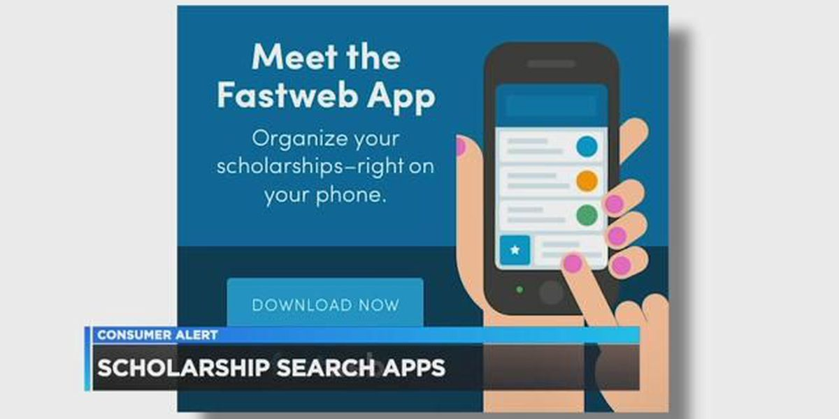 Scholarship search apps