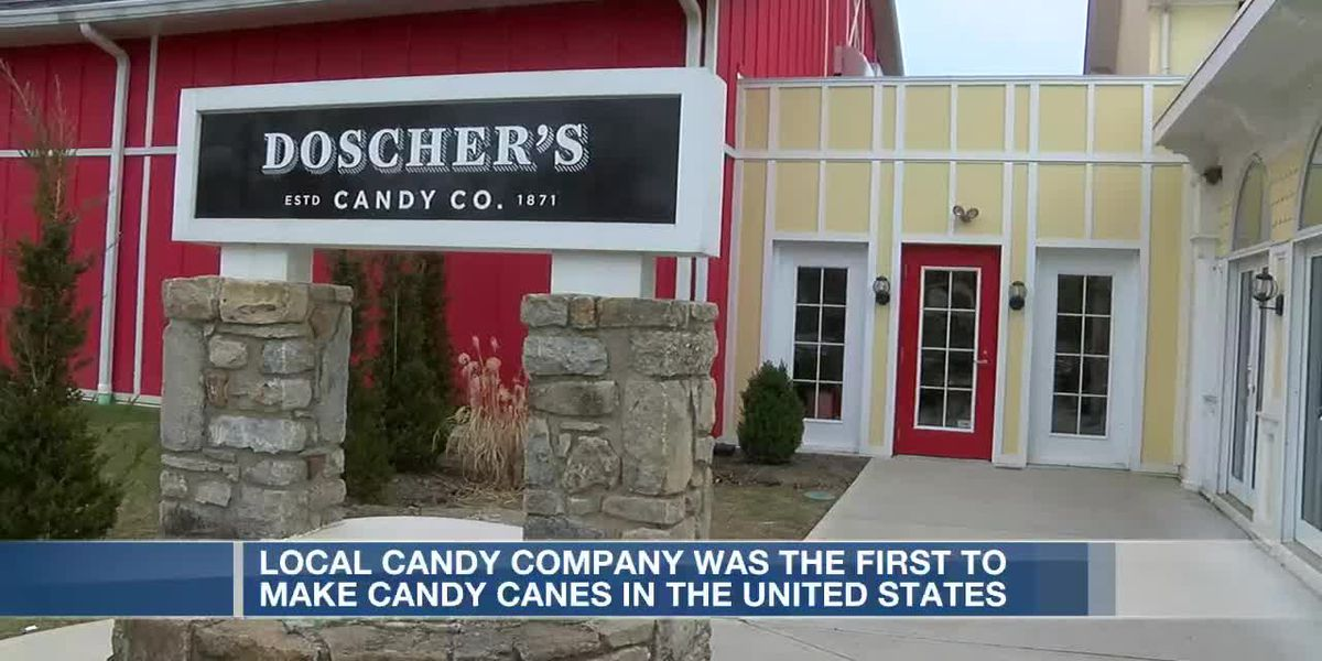 Local candy company was the first to make candy cane in the United States