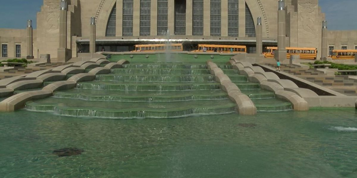 Union Terminal fountain springs back to life