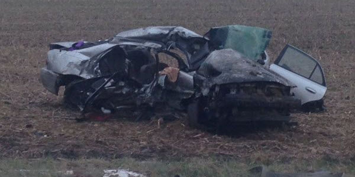 Police ID adults, child killed in Ripley Co. crash
