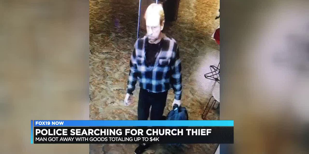 Police searching for man who stole from church