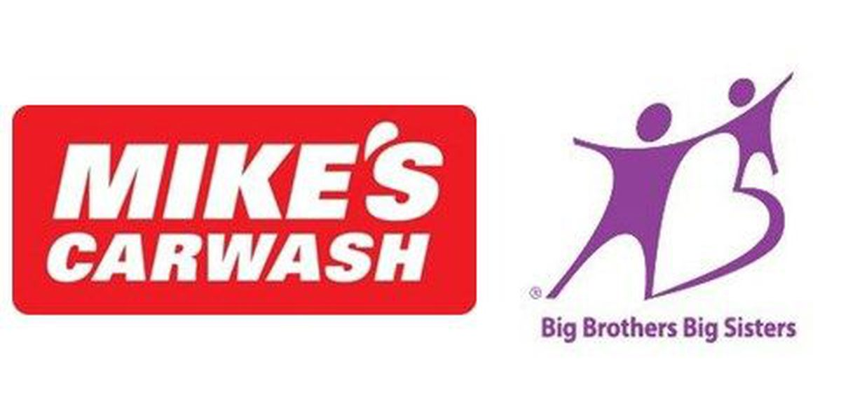 Mike's Carwash partners with Big Brothers, Big Sisters for charity car wash day
