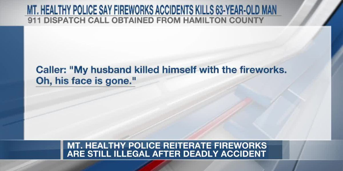 Mt. Healthy police reiterate fireworks are illegal after deadly accident