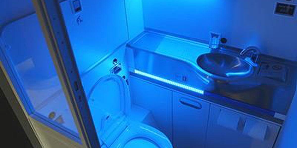 Boeing develops 'self-cleaning' airplane bathrooms