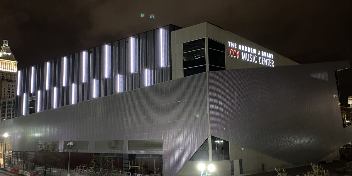 Construction on music venue at the Banks almost complete