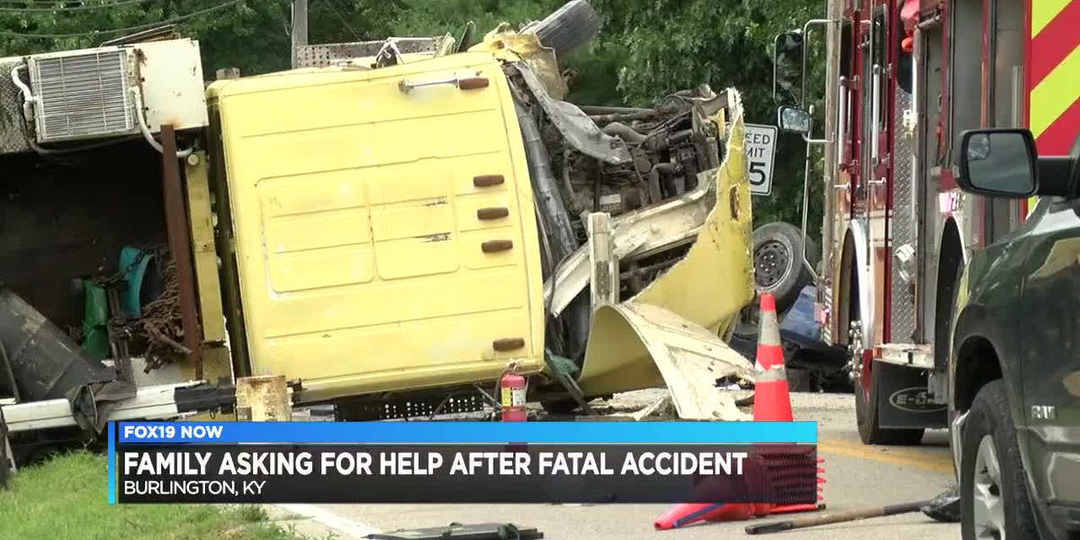 Family asking for help after fatal accident