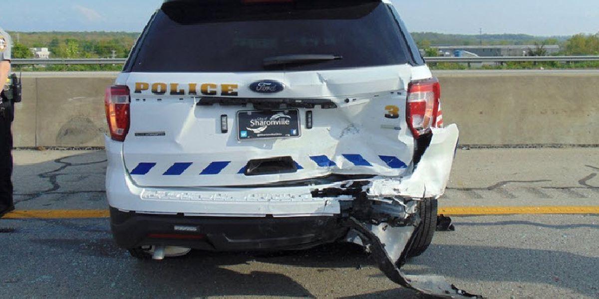 Sharonville police officer, motorist hurt in I-275 crash