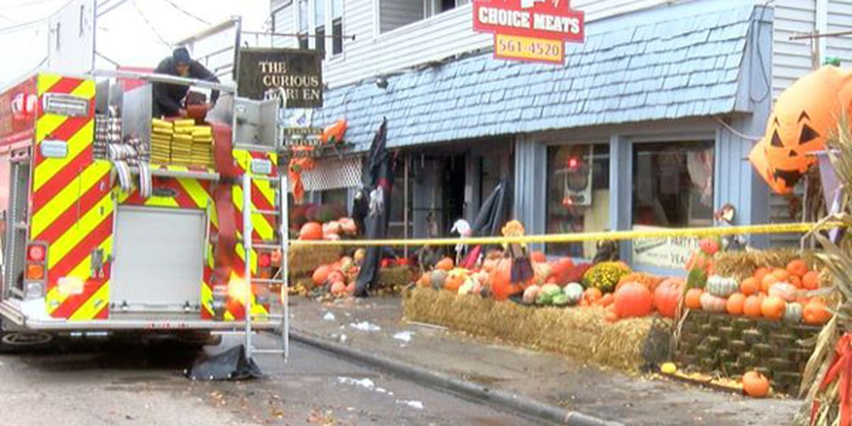 Firefighter injured in Madeira fire, business suffers severe damage