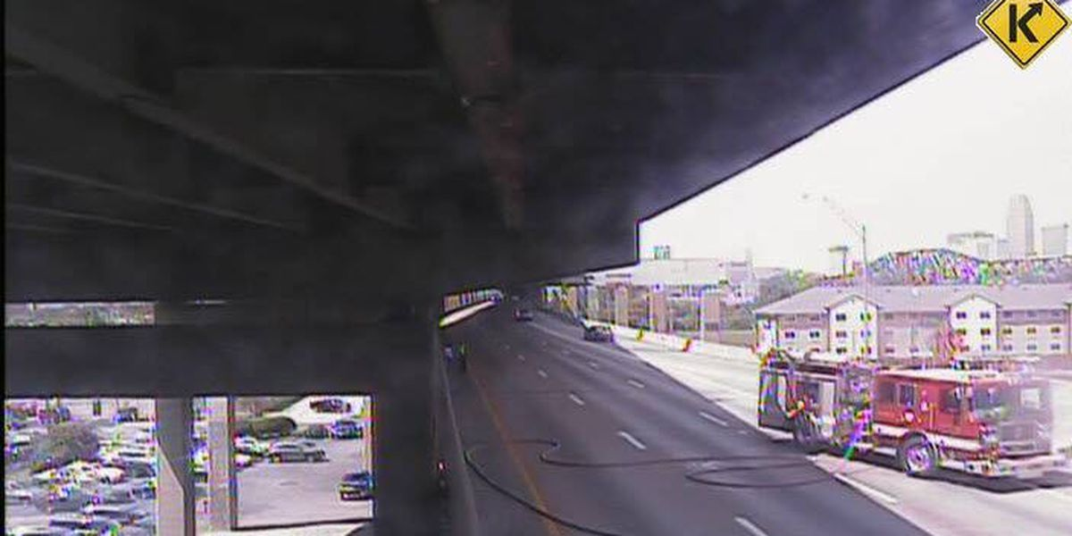 Brent Spence Bridge reopens after vehicle fire
