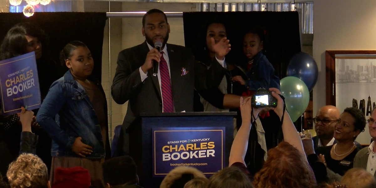 Kentucky State Representative Charles Booker announces run for US Senate in 2020