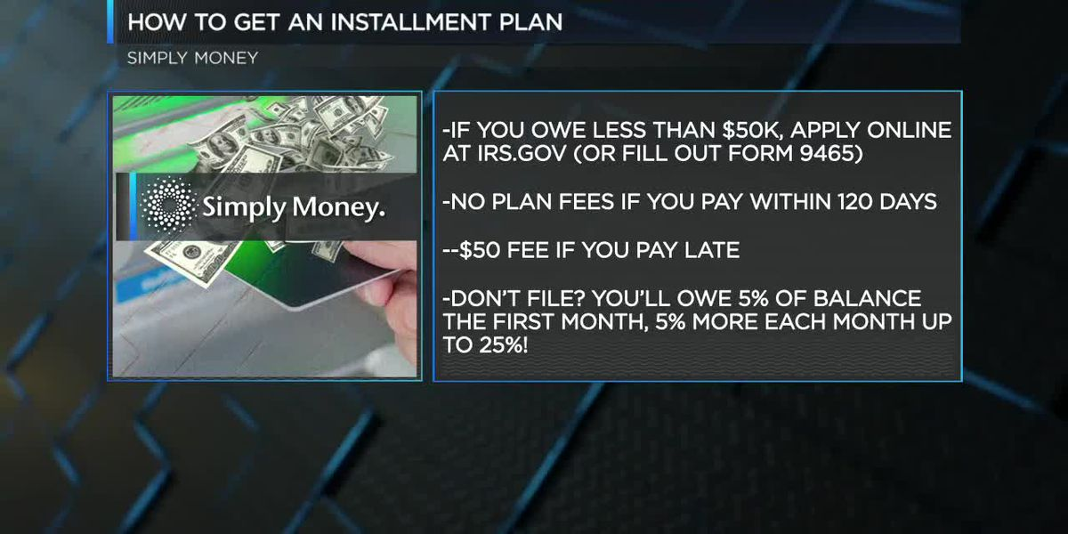 Simply Money: Paying what you Owe during Tax Time
