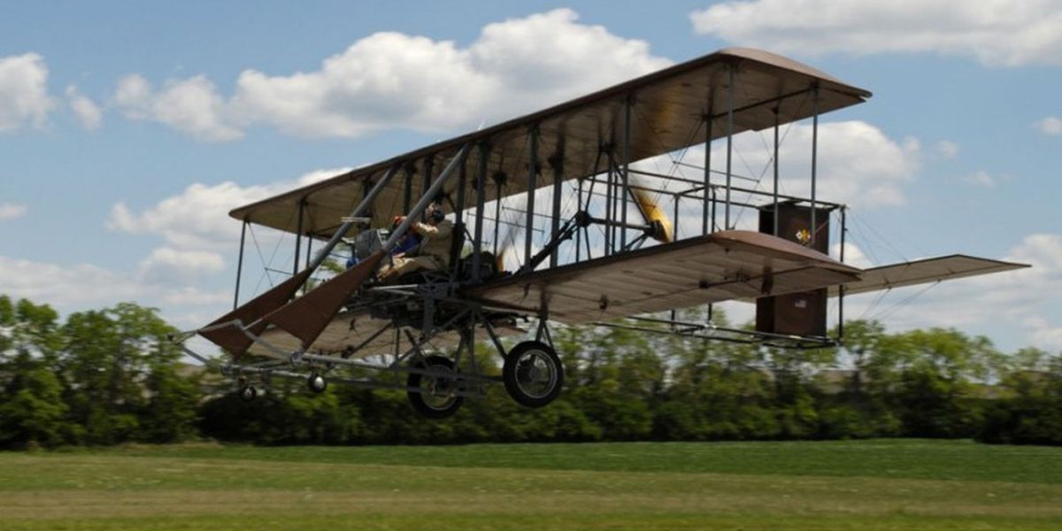 "Neil Armstrong's son to become 5,000th rider of the Wright ""B"" Flyer"