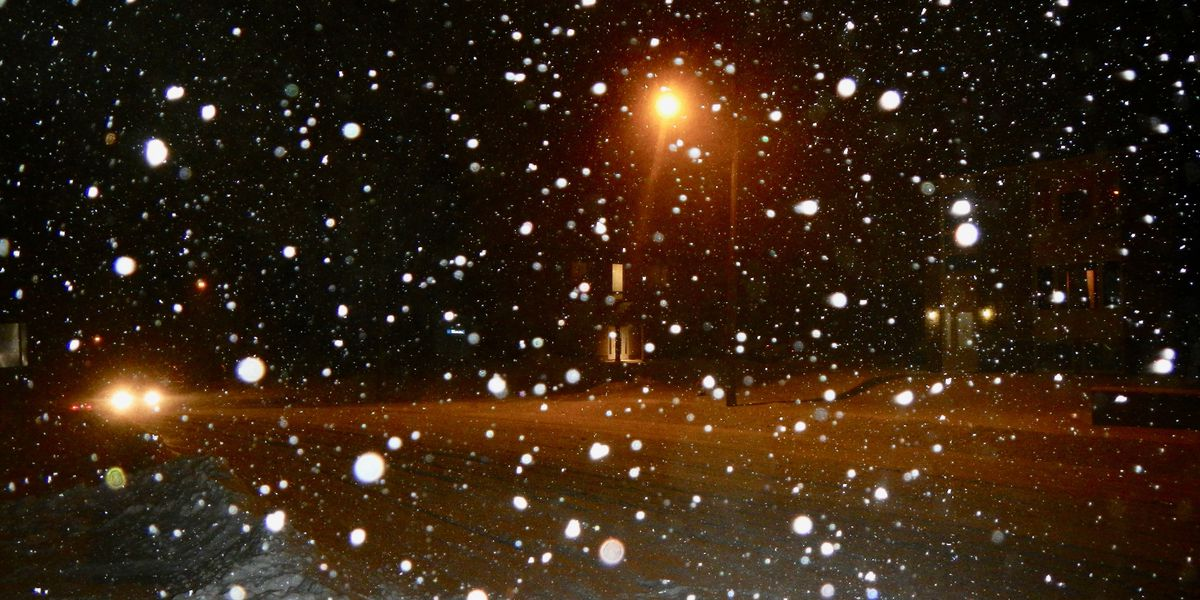 Snow beginning to accumulate throughout the tri-state