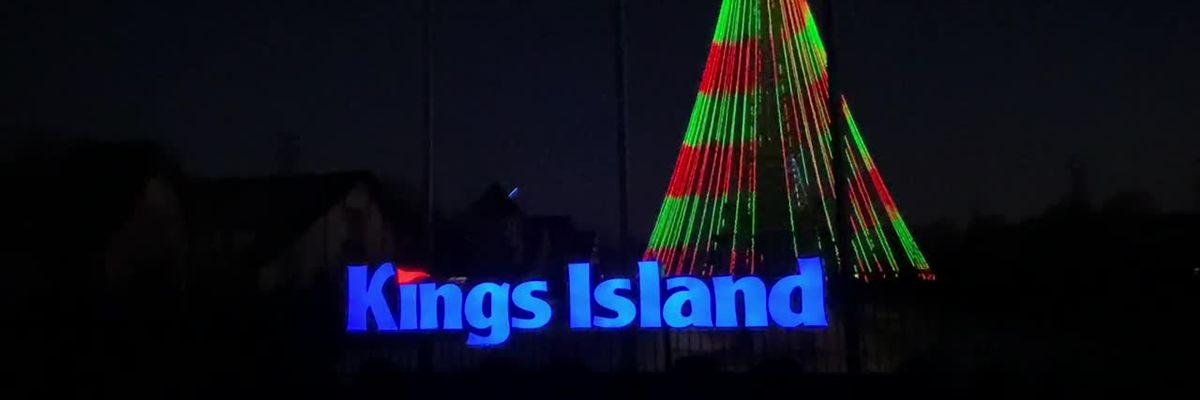 Kings Island's transforms Eiffel Tower into region's tallest Christmas tree