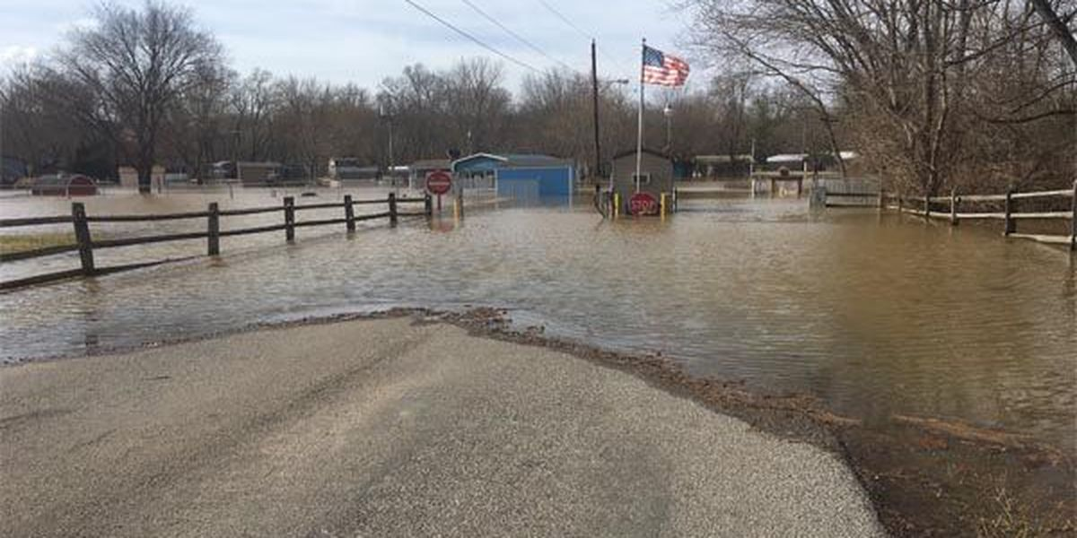 Rising water causes concern in New Richmond