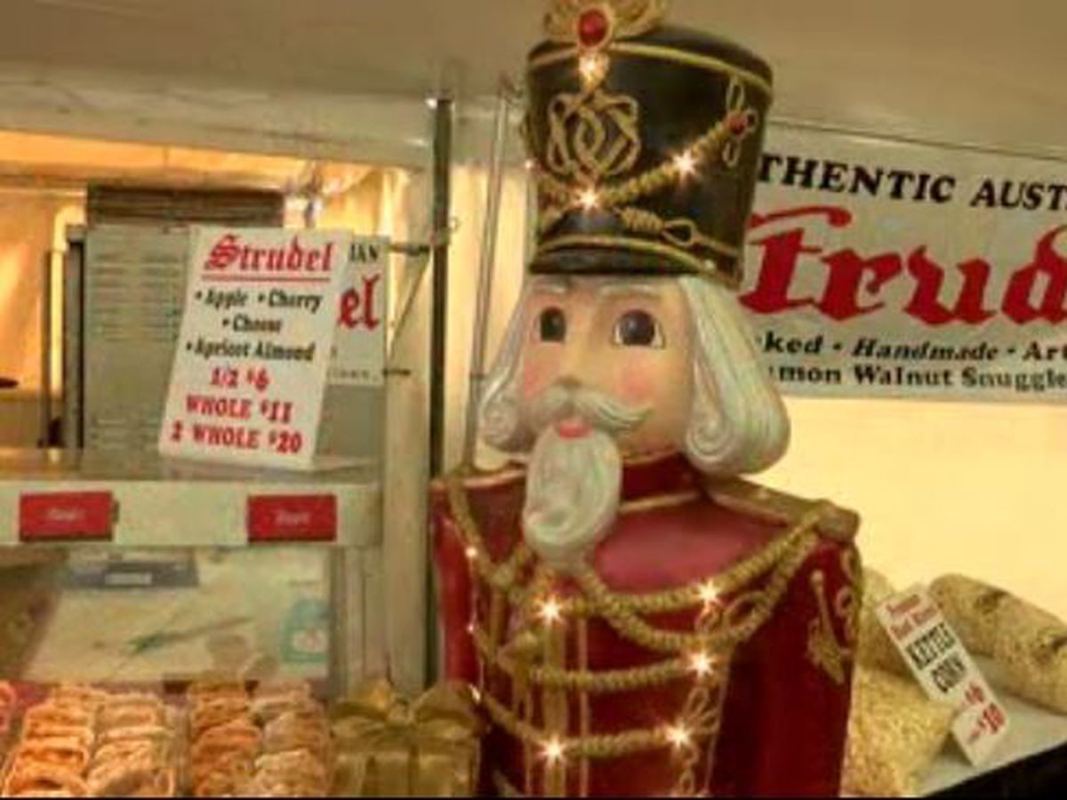 Germania society of Cincinnati holds Christmas market