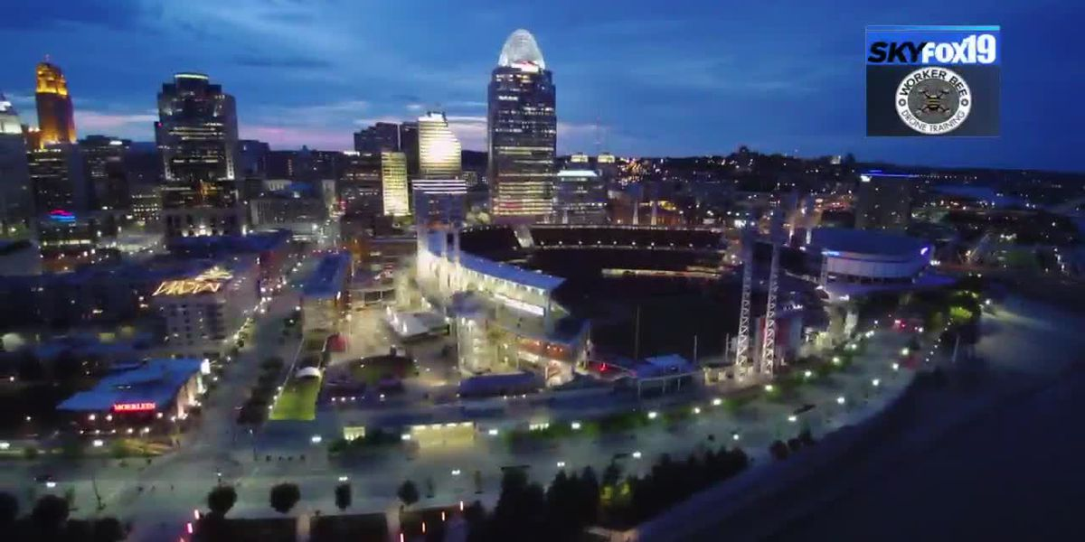 SkyFox19 Downtown Cincinnati
