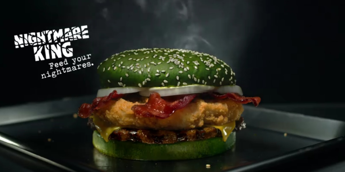 Burger King prepares for Halloween with the 'Nightmare King'