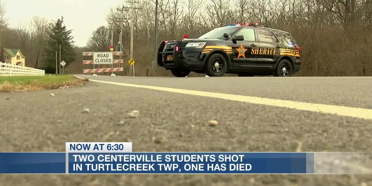 Centerville shooting leaves one student dead, other in critical condition