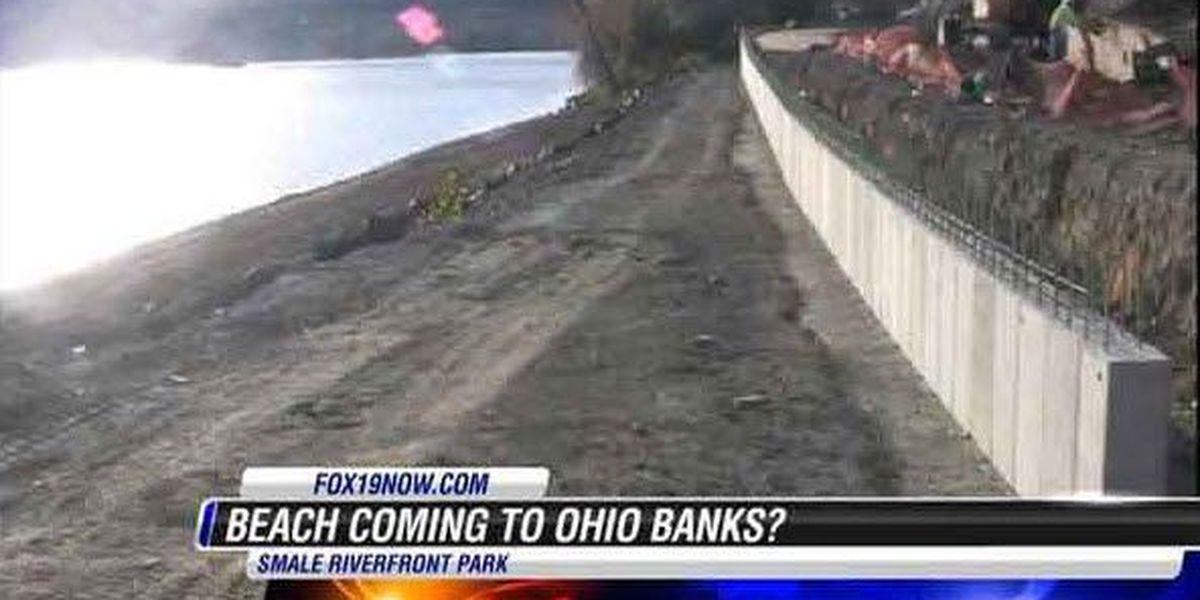 Coming soon: The Beach along Cincinnati's side of the Ohio River