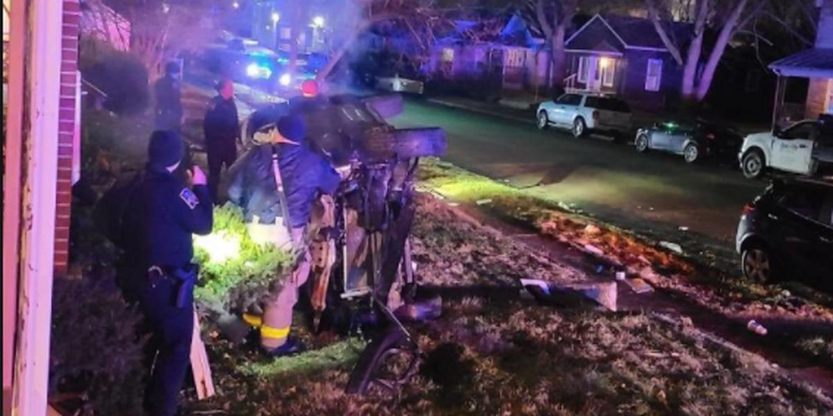 Minors crash stolen car into Tri-State neighborhood, rob couple of 'lifeline'