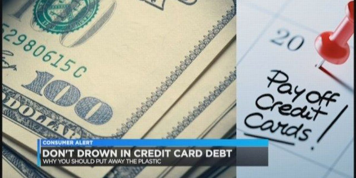 Simply Money Don't drown in credit card debt