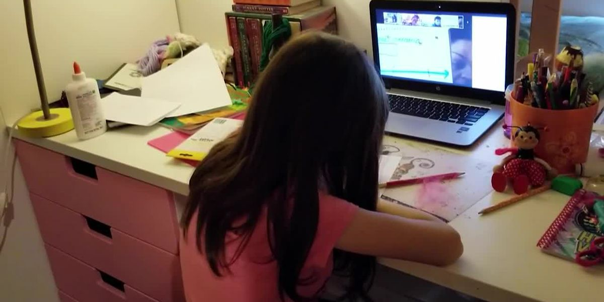 Working parents juggle work, remote learning