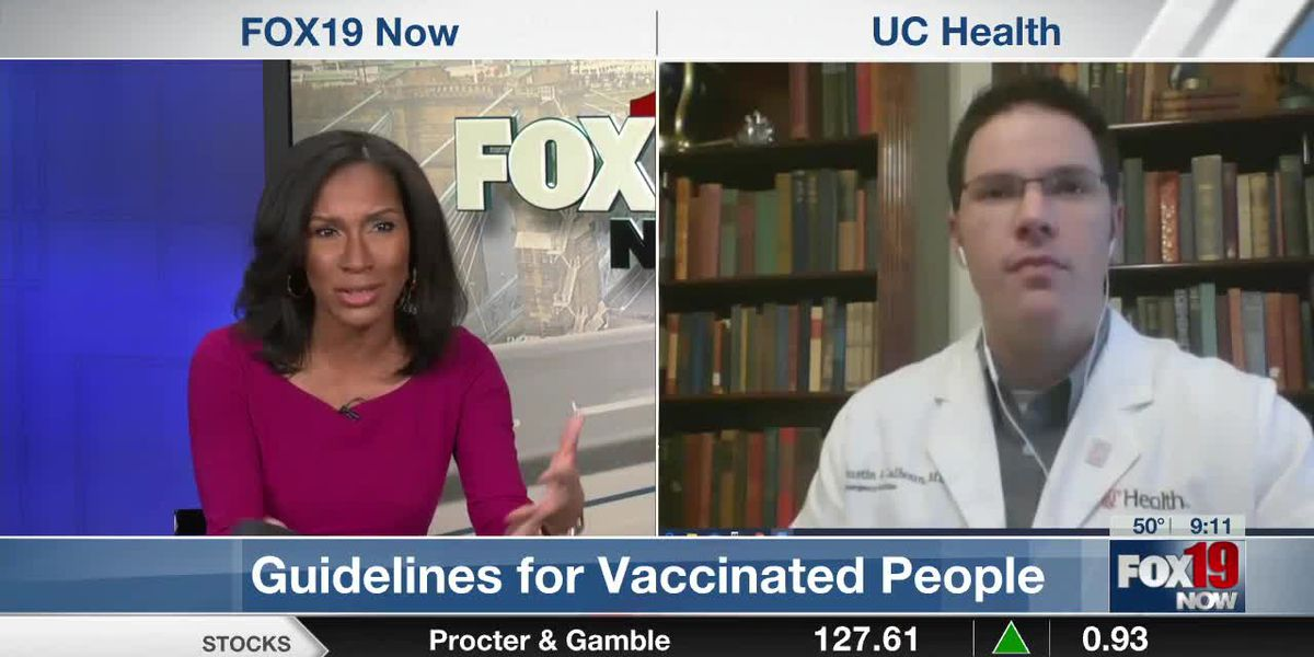 Guidelines for Vaccinated People with UC Health