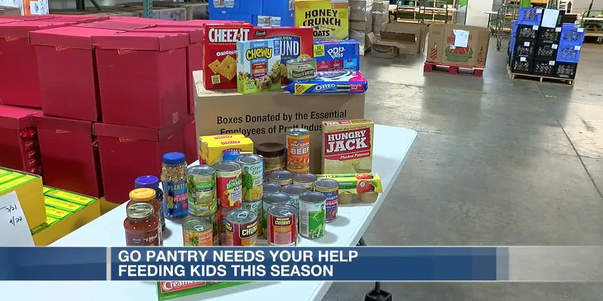 GO Pantry needs your help feeding hundreds of kids this Christmas
