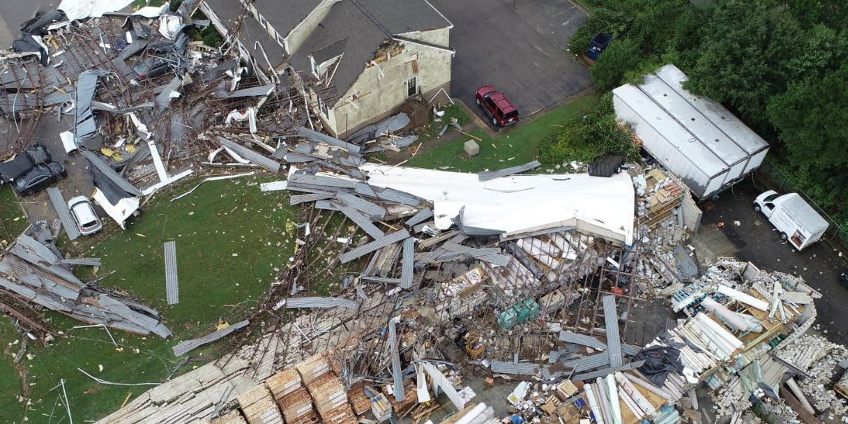 Multiple tornadoes confirmed in Virginia