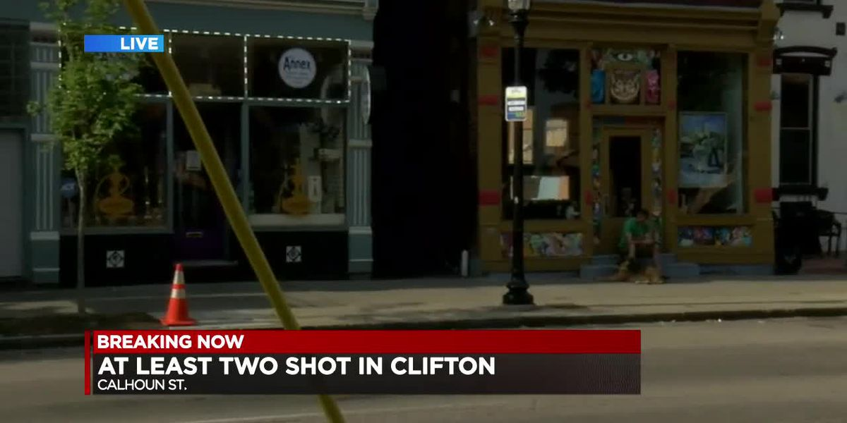 At least 2 people shot in Clifton