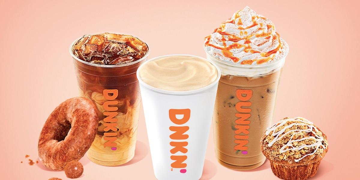Dunkin' bringing back fall favorites earlier than ever