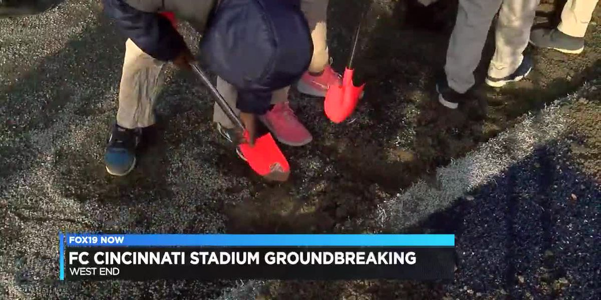 FC Cincinnati stadium groundbreaking