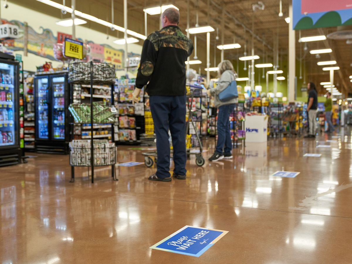 Kroger to limit number of customers in stores to help prevent coronavirus spread