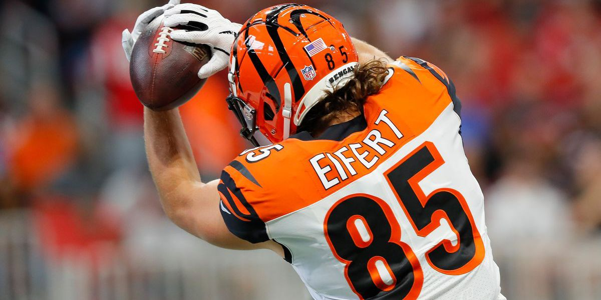 Tyler Eifert returning to Bengals in 2019