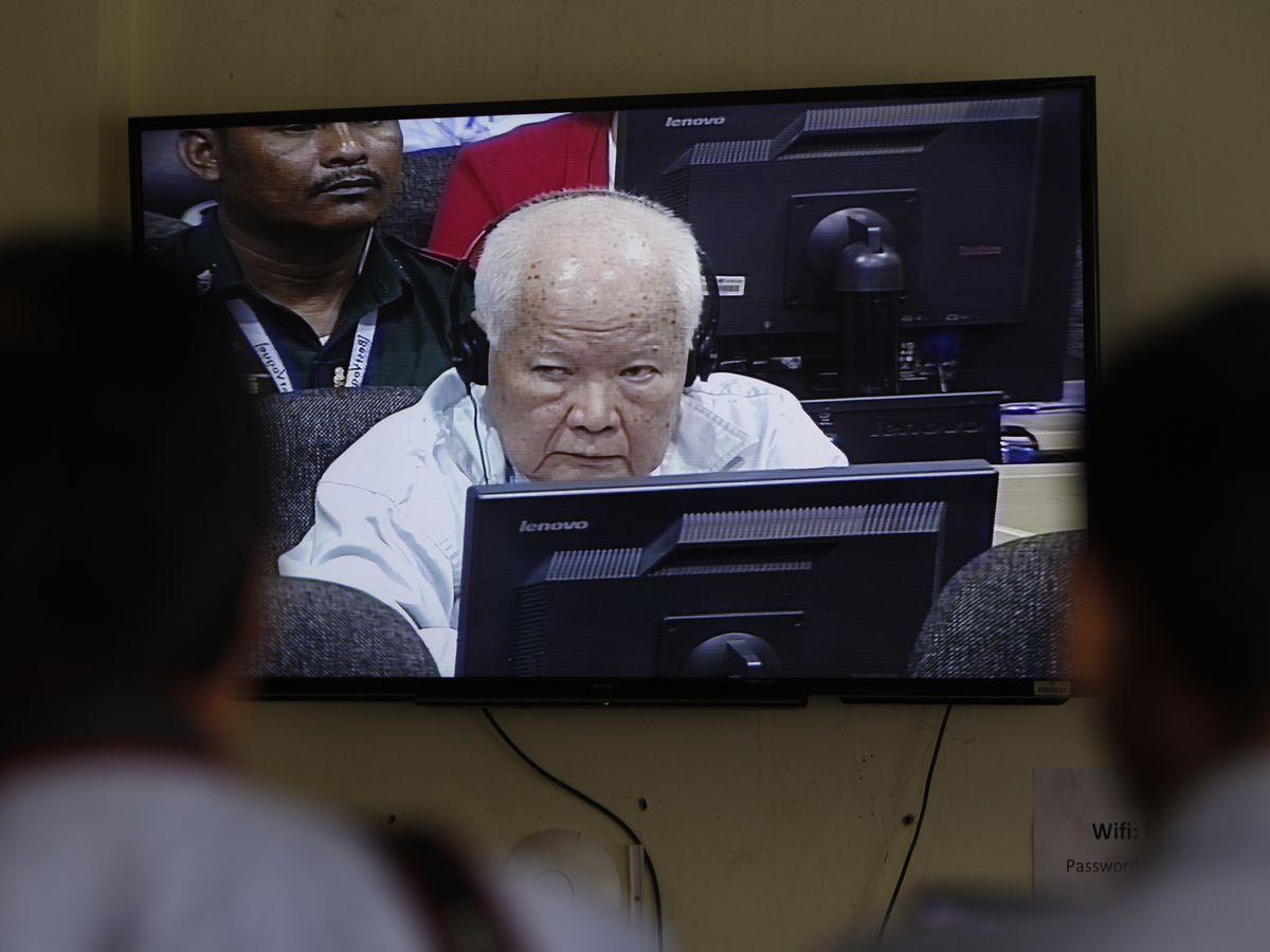 The Latest: Last Khmer Rouge leaders get 2nd life sentence
