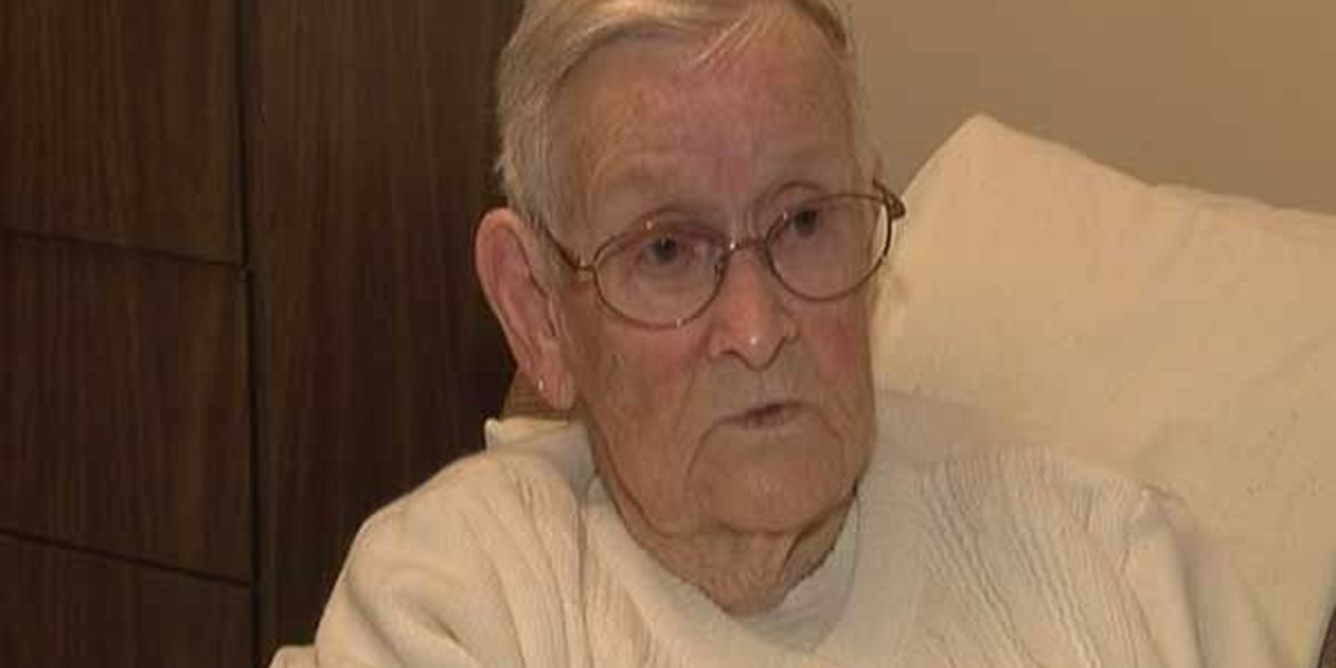 96-year-old woman robbed in her home