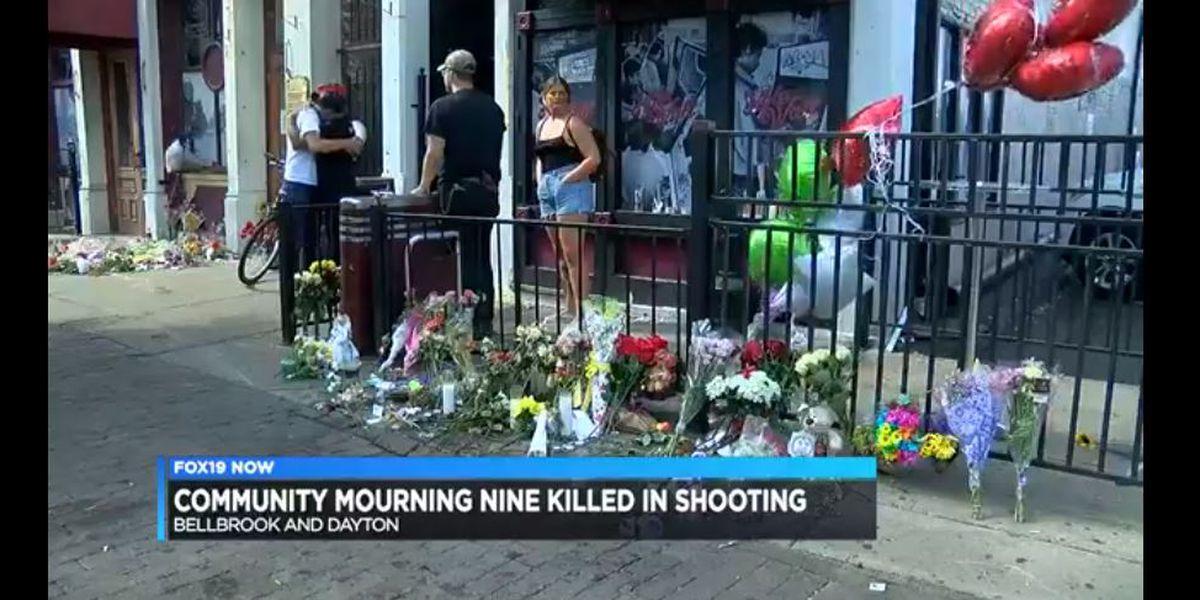 Community mourning those killed in Dayton mass shooting