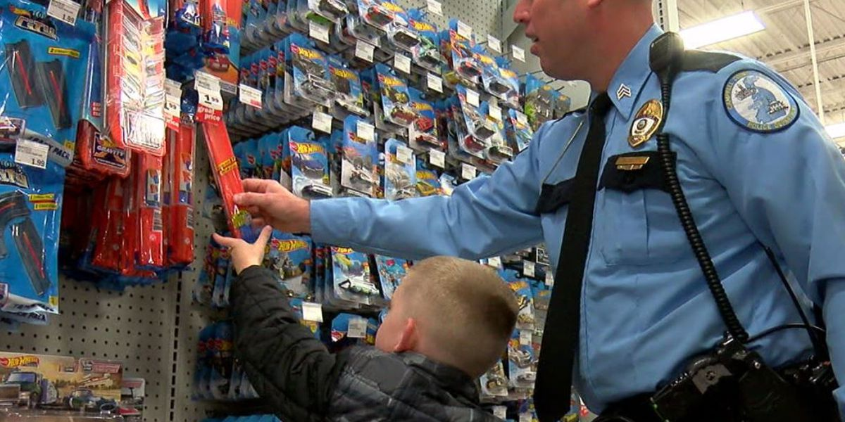 Cops and Kids event treats 65 kids to shopping day in NKY