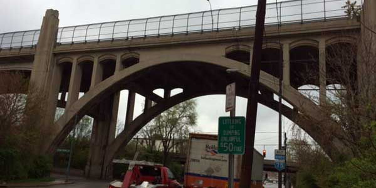 Bottom deck of Western Hills Viaduct to close Saturday for maintenance