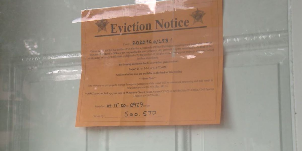 Milwaukee family of 4 evicted despite national COVID-19 eviction moratorium
