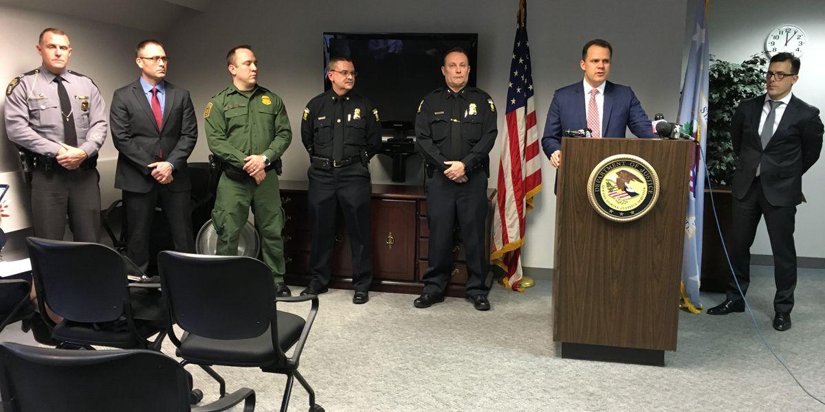 FBI announces arrest of 2 area people in unrelated domestic terror cases