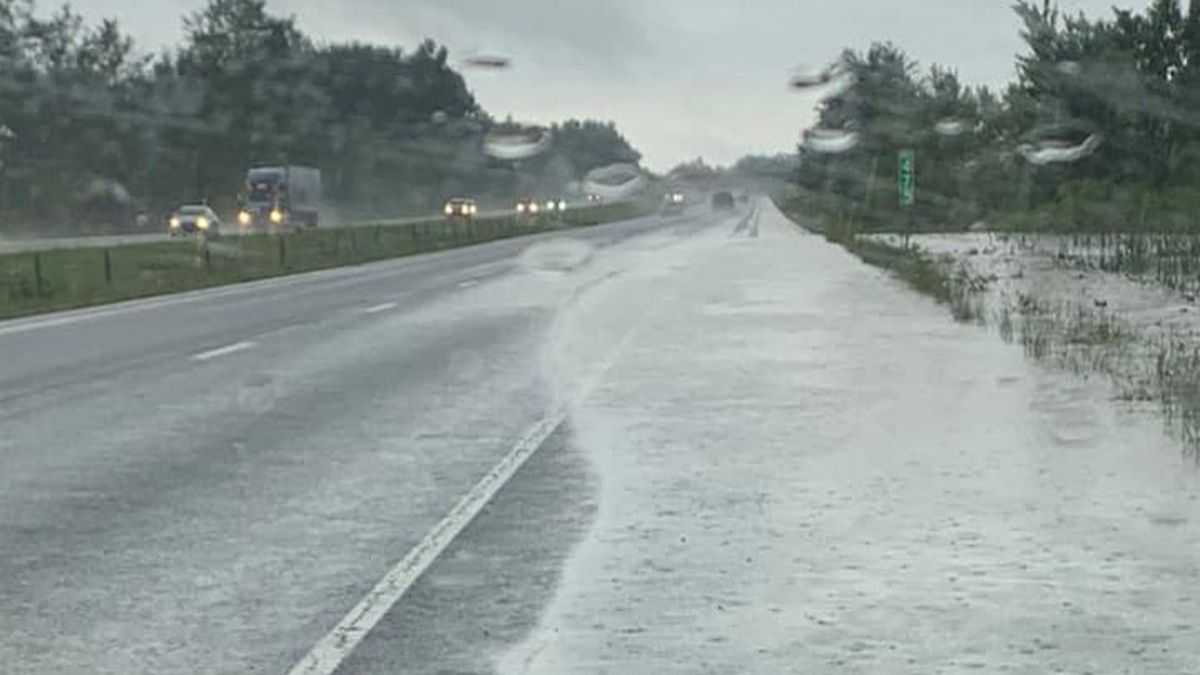 Flooding closes roads in SE Indiana